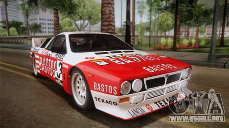 Lancia Rally 037 Stradale (SE037) 1982 HQLM PJ2 para GTA San Andreas left