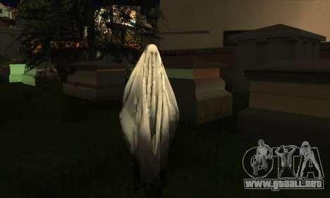 Transparent Ghost para GTA San Andreas sucesivamente de pantalla