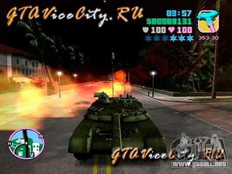 T80 para GTA Vice City vista lateral izquierdo