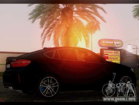 BMW X6M BULKIN ED. para GTA San Andreas left