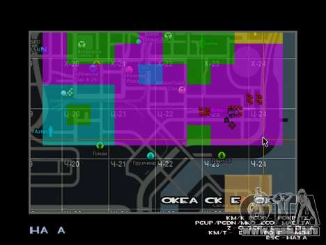C-HUD BREZZ para GTA San Andreas segunda pantalla