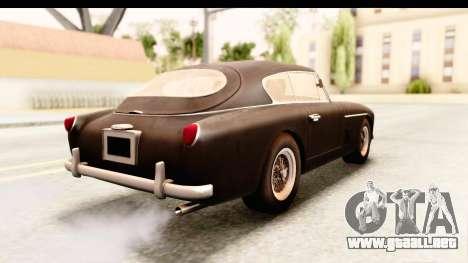 Aston Martin DB2 Mk II 39 1955 para GTA San Andreas left