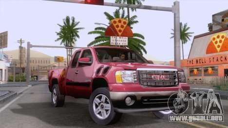 GMC Sierra 2015 para GTA San Andreas