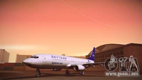 Boeing 737-800 Korean Air Skyteam para GTA San Andreas