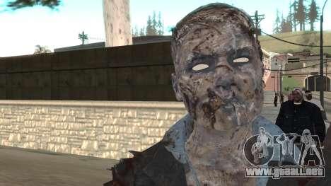 Zombie from Black Ops 3 para GTA San Andreas tercera pantalla