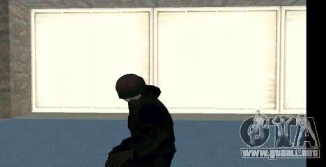 GTA 5 FIB SWAT Blue para GTA San Andreas séptima pantalla