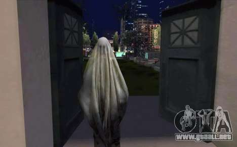 Transparent Ghost para GTA San Andreas