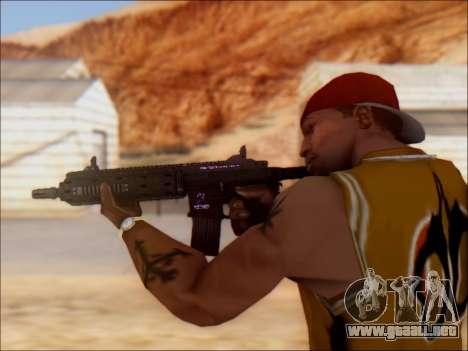 GTA 5 Vom Feuer Carbine Rifle para GTA San Andreas sucesivamente de pantalla