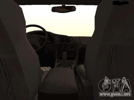 Mitsubishi Eclipse The Fast and the Furious para visión interna GTA San Andreas