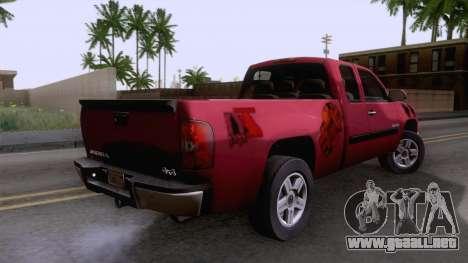 GMC Sierra 2015 para GTA San Andreas left