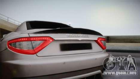 Maserati Gran Turismo Sport para la visión correcta GTA San Andreas