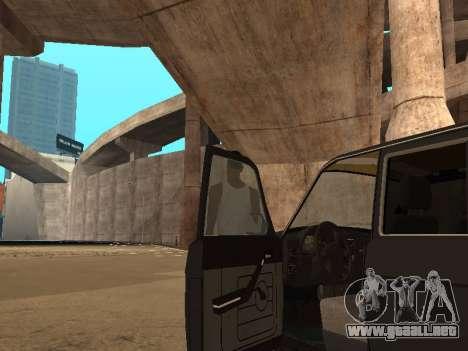 GAZ 310221 para visión interna GTA San Andreas