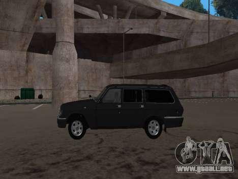 GAZ 310221 para la visión correcta GTA San Andreas