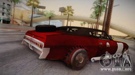 Ford Landau 1973 Mad Max 2 para GTA San Andreas left