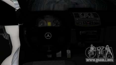Mercedes-Benz Vito para el motor de GTA San Andreas