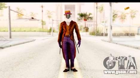 Watchman-Rorschach para GTA San Andreas segunda pantalla