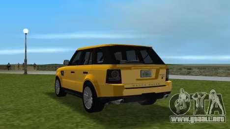 Range Rover Sport HSE (Rims 1) v2.0 para GTA Vice City vista lateral izquierdo