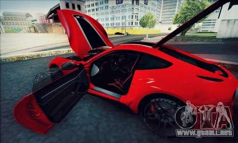 Ferrari F12 Berlinetta para visión interna GTA San Andreas