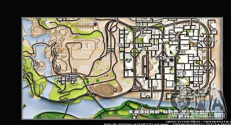 Remaster Map Full Version para GTA San Andreas segunda pantalla