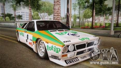 Lancia Rally 037 Stradale (SE037) 1982 IVF PJ2 para GTA San Andreas left