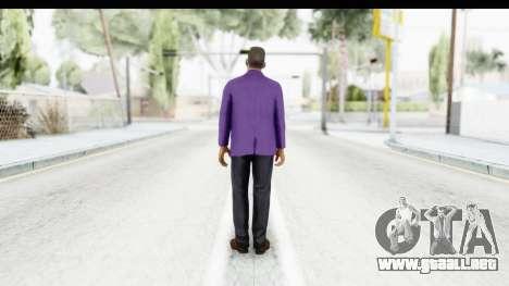 Will Smith Fresh Prince of Bel Air v2 para GTA San Andreas tercera pantalla