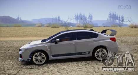 Subaru WRX STI LP400 2016 para GTA San Andreas left