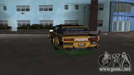 VAZ 2106 Fantasy Art Tunning para GTA Vice City vista lateral izquierdo
