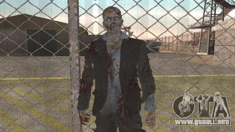 Zombie from Black Ops 3 para GTA San Andreas segunda pantalla