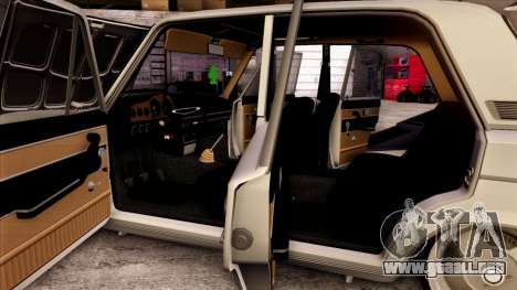 VAZ 2103 para las ruedas de GTA San Andreas