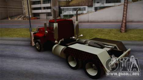 Mack R600 v2 para GTA San Andreas left