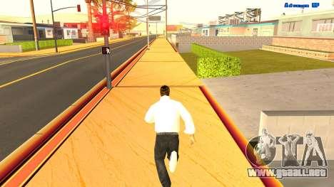 El funcionamiento sin fin para GTA San Andreas segunda pantalla