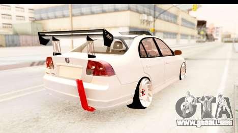 Honda Civic Vtec 2 Berkay Aksoy Tuning para GTA San Andreas left