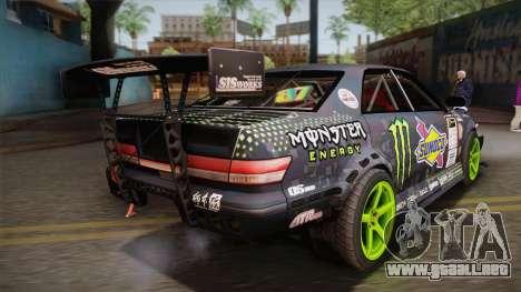 D1GP Toyota Mark II Sunoco Monster para GTA San Andreas left
