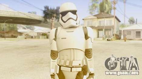 Star Wars Ep 7 First Order Trooper para GTA San Andreas