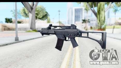 G36C para GTA San Andreas tercera pantalla