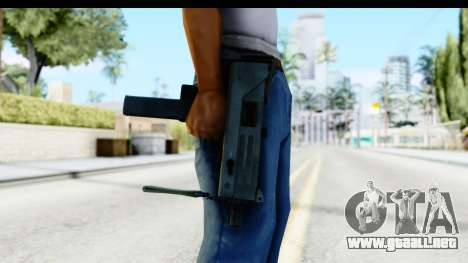 CS:GO - MAC-10 para GTA San Andreas tercera pantalla