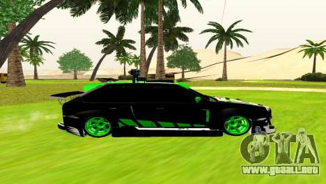 ВАЗ 2114 DTM TURBO DEPORTES para GTA San Andreas left
