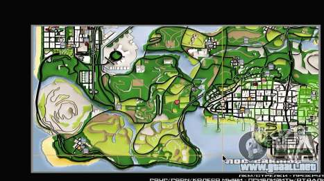 Remaster Map Full Version para GTA San Andreas tercera pantalla