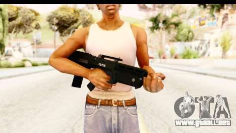 GTA 5 Vom Feuer Advanced Rifle para GTA San Andreas tercera pantalla