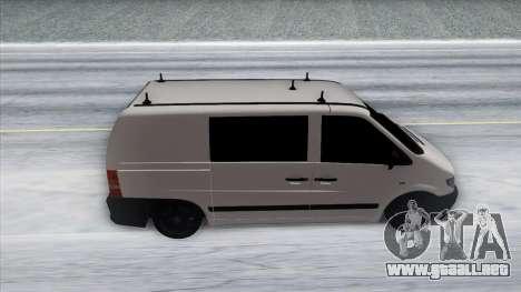 Mercedes-Benz Vito para visión interna GTA San Andreas