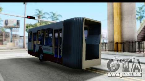 Metrobus de la Ciudad de Mexico Trailer para la visión correcta GTA San Andreas