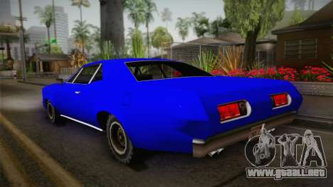 Bestia 1971 from Midnight Club 2 para GTA San Andreas left