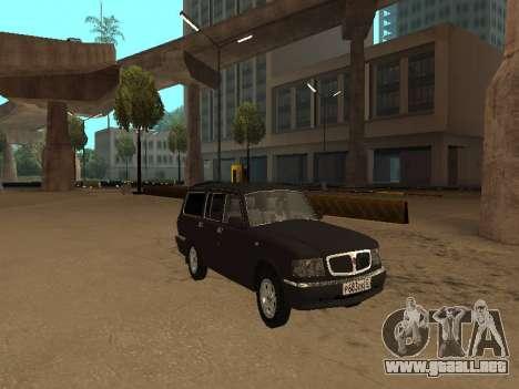GAZ 310221 para GTA San Andreas