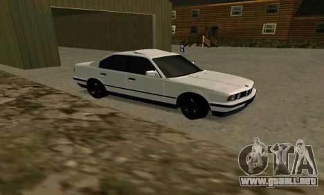 BMW 535i E34G para GTA San Andreas left
