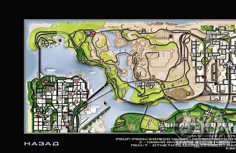Remaster Map Full Version para GTA San Andreas quinta pantalla