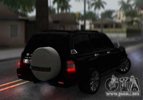 Toyota Land Cruiser 105 para la visión correcta GTA San Andreas