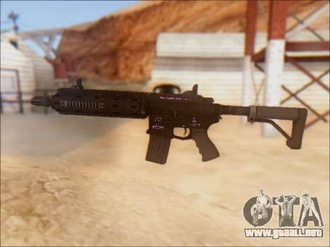 GTA 5 Vom Feuer Carbine Rifle para GTA San Andreas