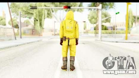 Zombie Radioactivo para GTA San Andreas tercera pantalla