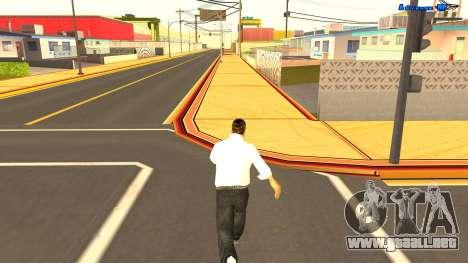 El funcionamiento sin fin para GTA San Andreas tercera pantalla