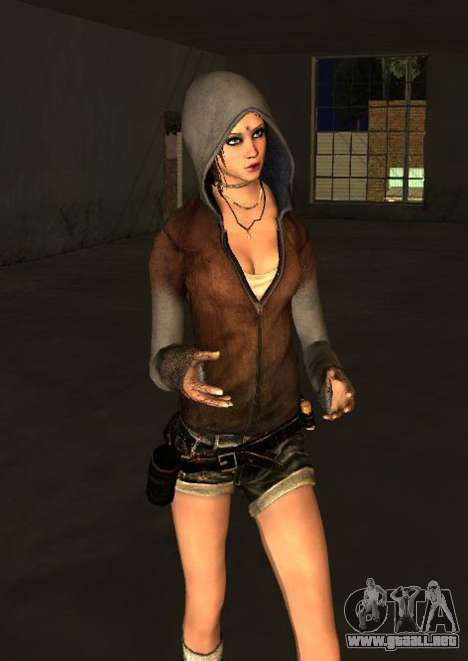 Kat from DMC para GTA San Andreas